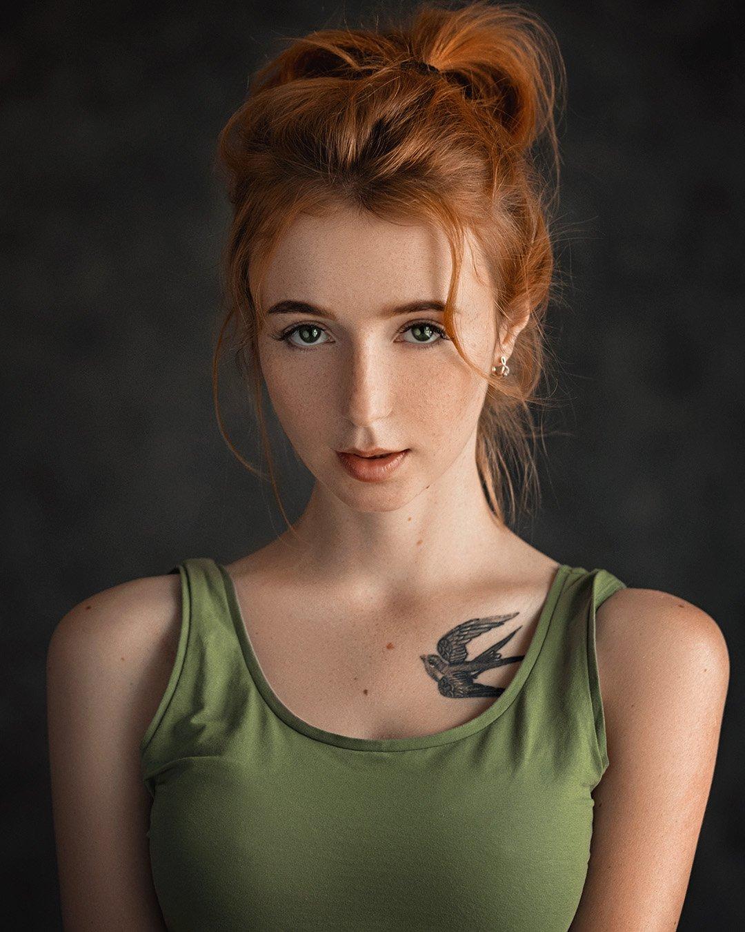 art, portrait, girl, model, арт, портрет, девушка, модель, Евгений Сибиряев