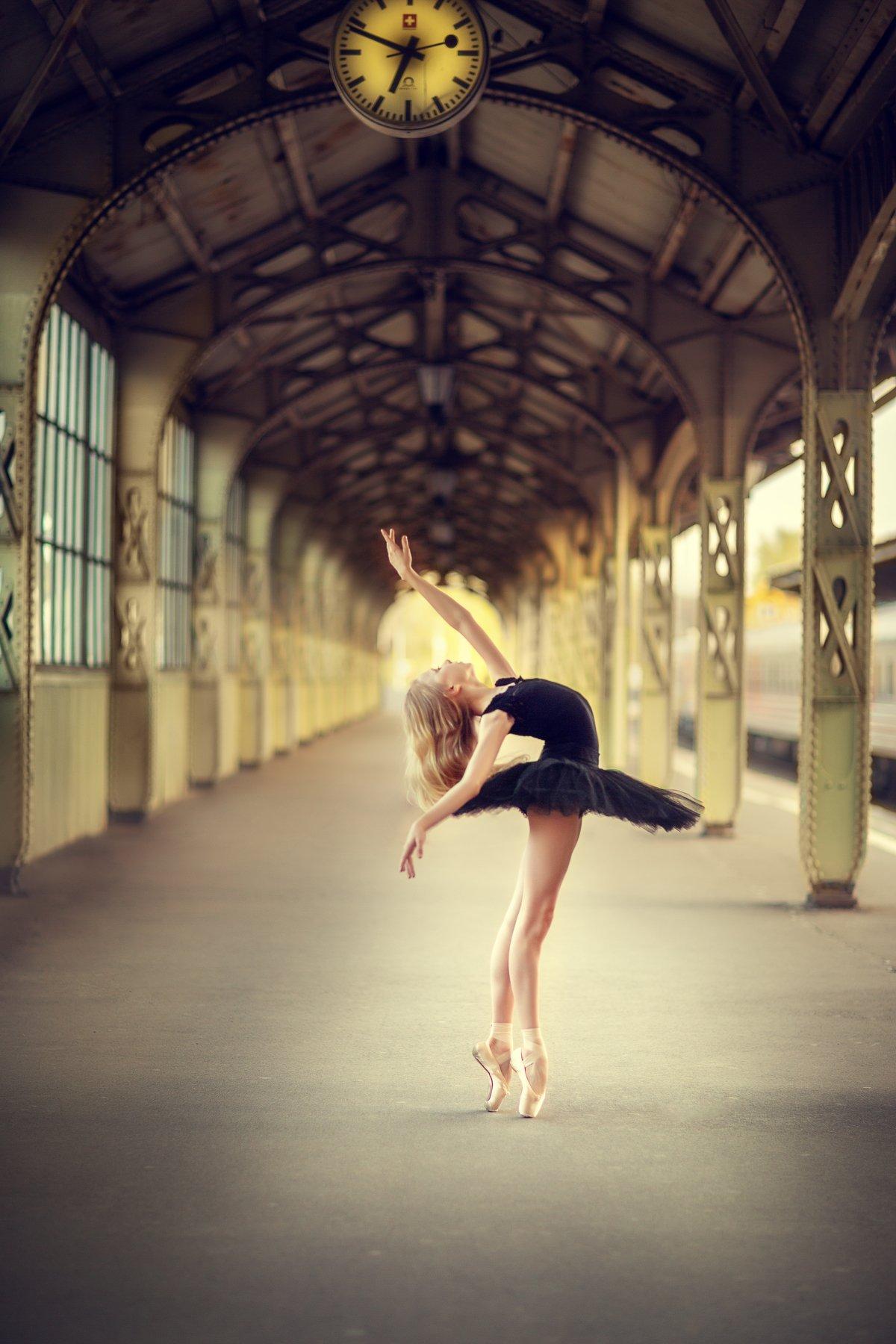 балет балерина , Силина Мила
