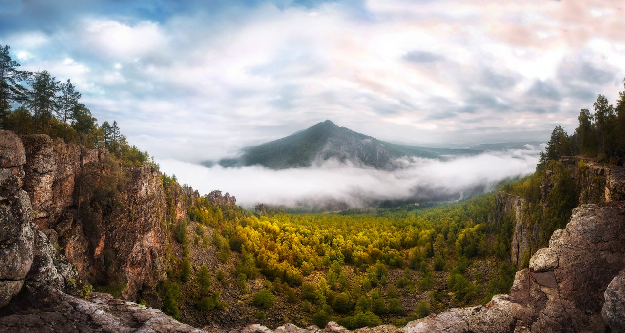 Урал, Айгир, Ямантау, башкирия, mountains, clouds, landscape, VyacheslavLin Vyacheslav