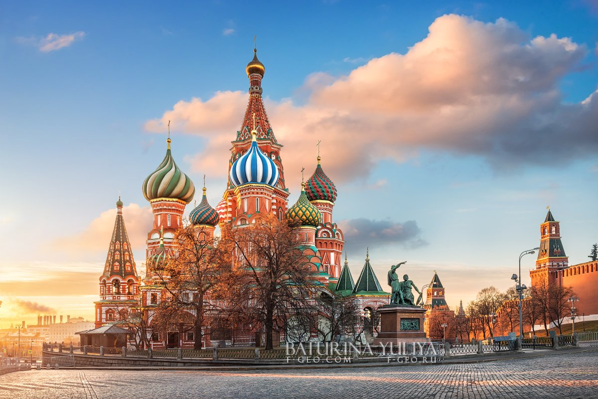 москва, красная площадь, собор василия блаженного, Юлия Батурина