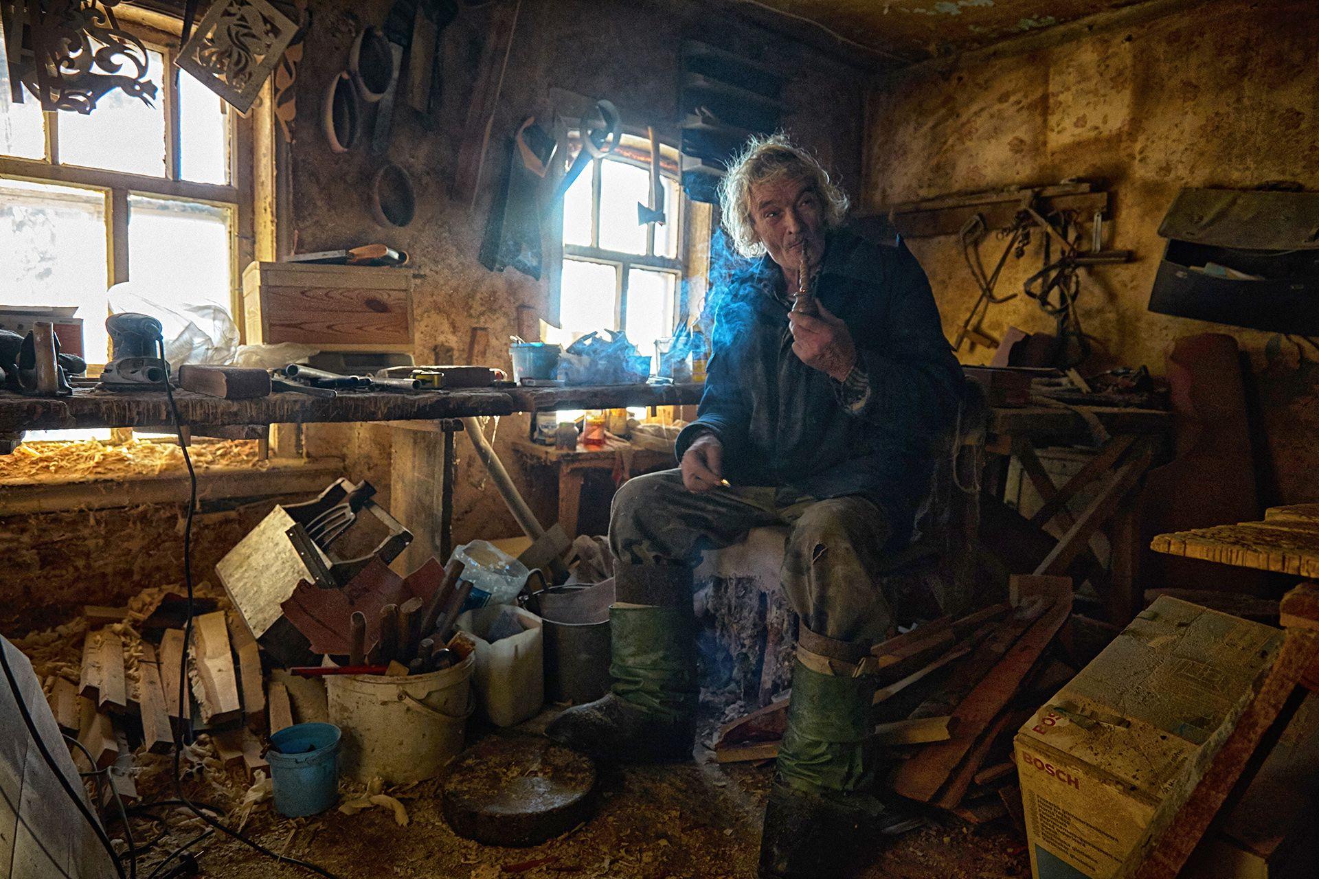 фото сельских мастерских решетка радиатора