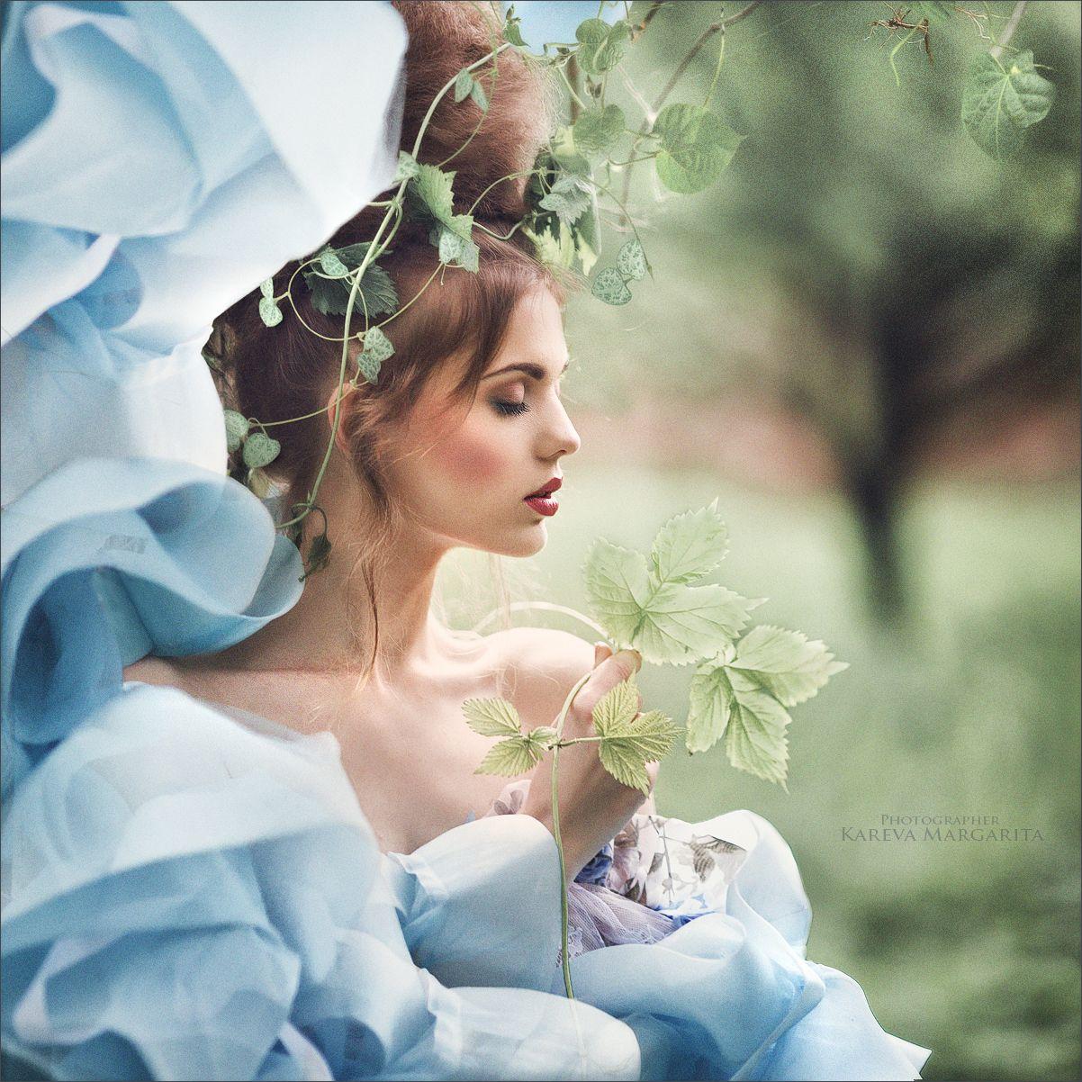 Весна, женщина, пахнет цветами. Весенняя женщина, проснулась! И Я ее знаю!Margarita Kareva