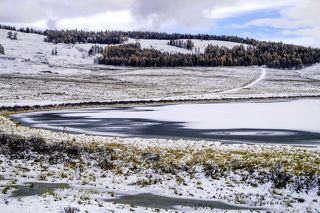 Озеро Джангысколь...октябрь 2016г.