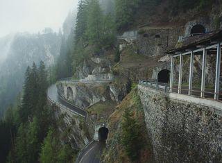 Дорога на перевал Шплюген