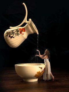 Ты как вода что наполняет жизнью.