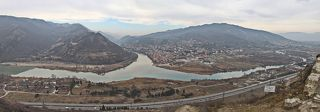 Мцхе́та — древнейший город Грузии, основан в 5-м веке до н.э, расположенный у слияния Арагви и Куры.