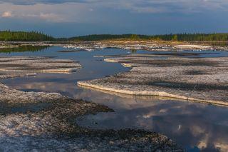 Иногда льдины группировались, не давая пройти сквозь них, и тогда приходилось расталкивать лед длинными шестами