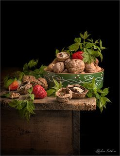 С грецкими орехами