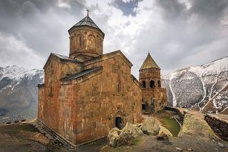 церковь Святой Троицы в Гергети