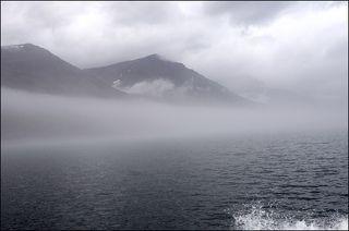 5 чем дальше,тем плотнее туман