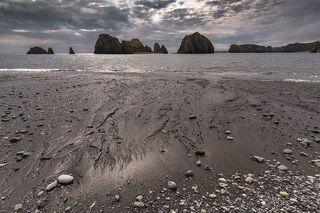 Такие рисунки на песке оставляет океан )