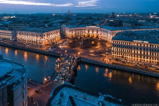 Мост и площадь Ломоносова