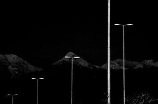 Black and white minimalistic urban photography.