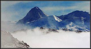 ЛЕГЕНДАРНАЯ ГОРА   ХАН-ТЕНГРИ 7010 метров