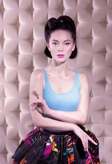 Мой PIN-UP Модель Регина Фото и образ Валерия Малиновска