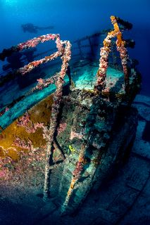 USNS Vandenberg, Key West Florida, the second biggest artificial reef in the world