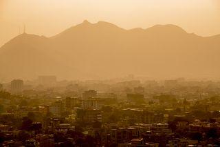 Столица Афганистана - Кабул, город с населением в 7 миллионов человек