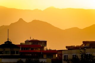 Афганский закат