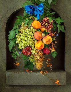 Гирлянда из фруктов