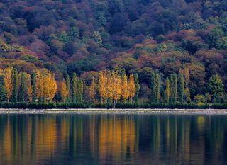 Осень Кавказ Азербайджан