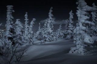 Замороженное время в горах Горной Шории.