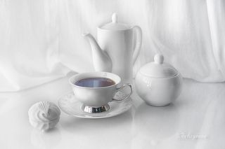 С чашкой чая