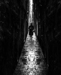 Ramo-Самая узкая в мире улица Рамо-Вариско в Венеции