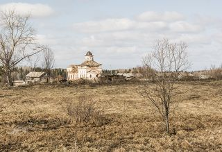 В деревне Вонгуда.