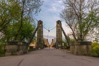 Цепной мост (1853 г).