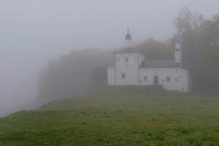 Труворово городище. Церковь Николы на Городище.