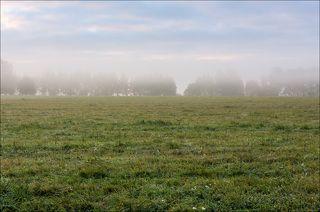 Во время восхода на полях