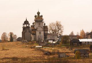 Вид на Преображенский храм д.. Турчасово.