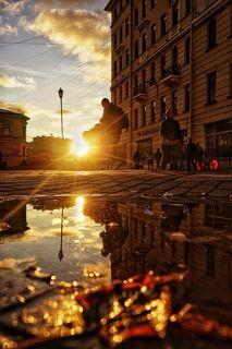 Осенний Петербург. Искал сюжеты прямо под ногами