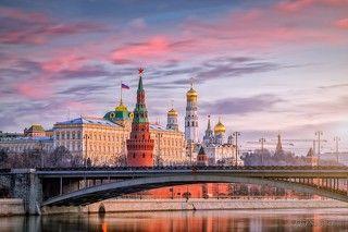 Московский кремль утром.