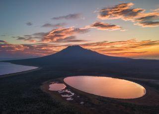 Вулкан Стокап. Остров Итуруп (Курилы).