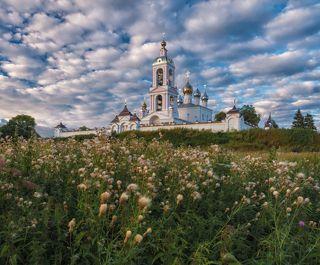 Монастырь Животворящего Креста Господня. с. Погост-Крест, Ивановская область.