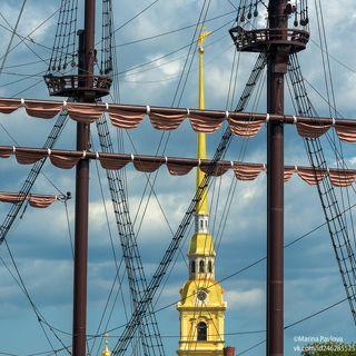 Лаконичный морской Петербург