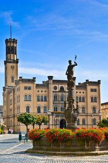 Мой родной город Циттау. Ратуша.
