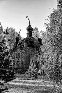 Разрушенная церковь в Ивановской области