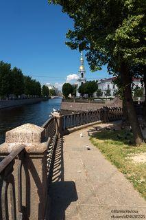 Летним днём на Крюковом канале