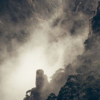 A moment in Huangshan