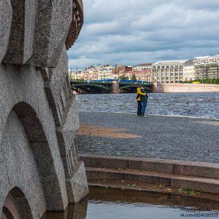 Осенний романтичный Петербург...