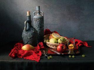 С яблоками и грушами