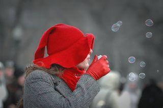 пузырьковое счастье :)