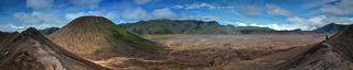 Вид с кратера вулкана Бромо
