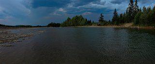 стоянка нашего экипажа на реке Куйдусун