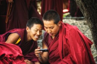 Тибет. Монастырь Сера.
