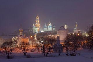 Туманным вечером