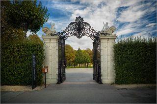 Ворота в парке Бельведер