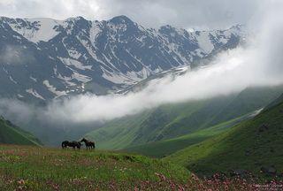 В горах Осетии